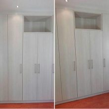 Custom Designed Bedroom Cupboard with TV Cavity